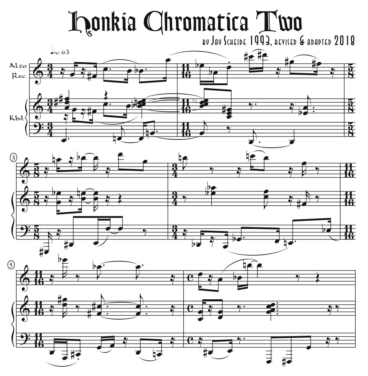 Honkia Chromatica Two